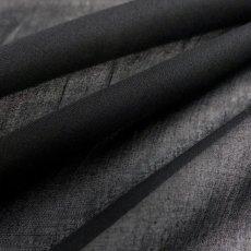 画像2: No.31 クラーク100/1綿強撚 黒 (2)