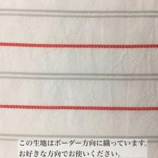 画像6: 【1点限定価格】ドビーストライプ レッド (6)
