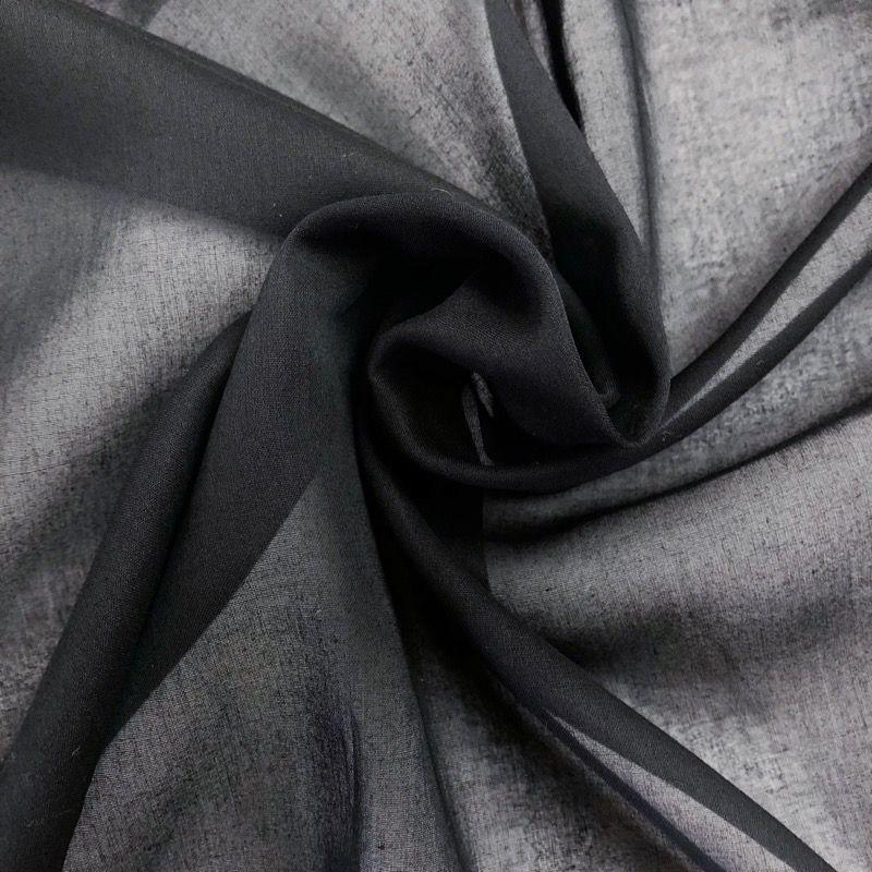 画像1: No.31 クラーク100/1綿強撚 黒 (1)