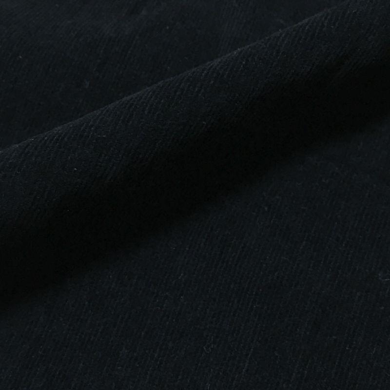 画像1: No.36  ストレッチタイニーコール ブラック (1)
