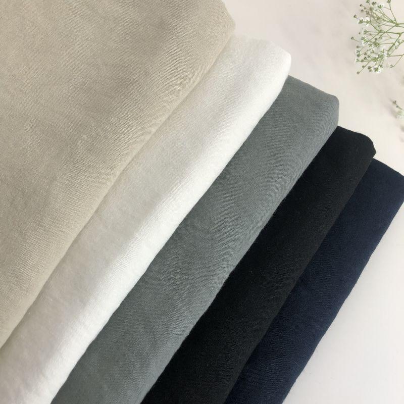 画像1: L-001 リネン平織り1/27番手  basic color (1)